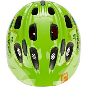 Cratoni Akino Helmet Kids dinogreen glossy